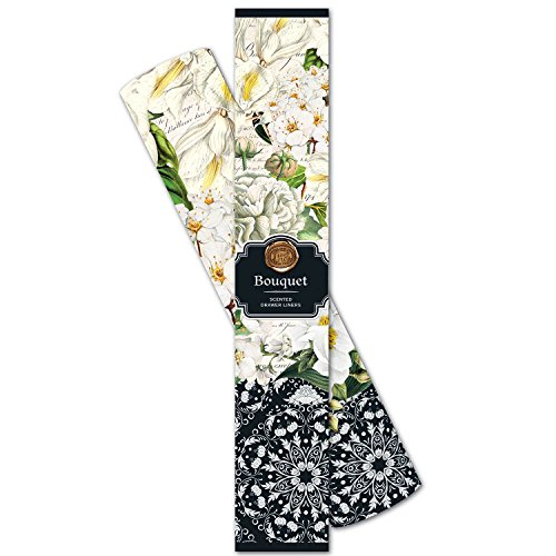 (Michel Design Works Scented Drawer Liners, Bouquet )