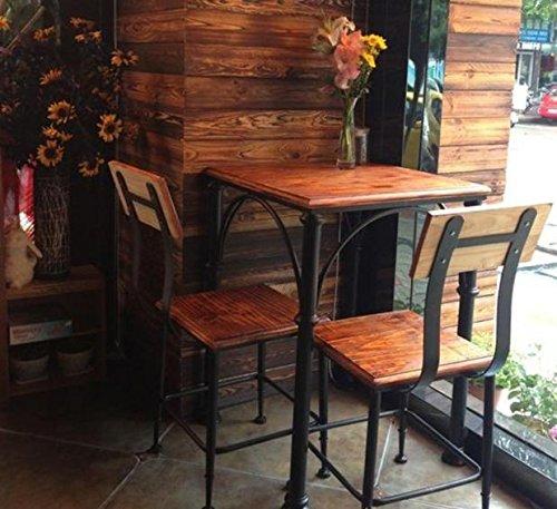 Upper-American retro Bügeleisen bar Tisch und Stühle aus Massivholz tisch Restaurants Geschäfte, Bars Cafés Möbel, einzelne Tabelle