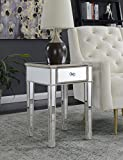 Convenience Concepts 413345WW End Table, Weathered White