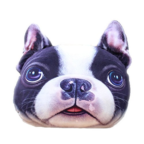 Utosi Driver Headrest 3D Cartoon Animal Cute Soft Pillow Pet Dog/Cat/Panda/Rabbit/Bear Plush Doll Toy Home sofa Decoration Neck Hold Plush pillow