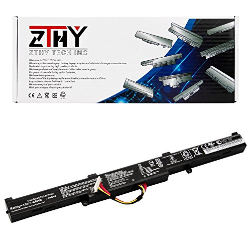 - ZTHY New A41N1501 Laptop Battery Replacement for ASUS ROG GL752VW G752VW N552V N552VX N552VW GL752 N552 N752 Series Notebook 0B110-00360000 0B110-00360100 A41LK9H L41LK2H 48WH 15V 3200mAh