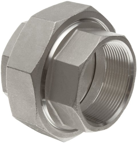 (Stainless Steel 304 Cast Pipe Fitting, Union, Class 150, 1