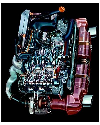 2004 Porsche 911 996 Turbo Cabriolet 3.6 Litre Turbo Engine Photo Poster