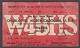 W4BHS Russell Robinson Charlotte NC QSL card 1932