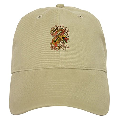 Magic Fire Cap (Royal Lion Cap (Hat) Fire Dragon - Khaki)