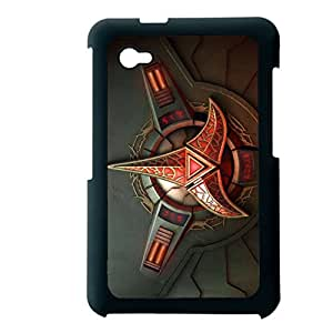 Generic Protection Back Phone Case For Boy Custom Design With Star Trek Logo For Samsung Galaxy Tab P6200 Choose Design 1