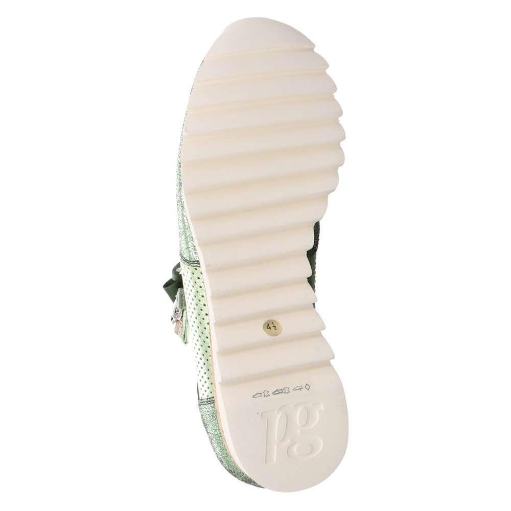 409707 4650 032 Paul Green Damen Grün Sneaker WDH29EYI