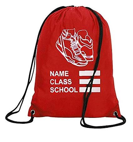 Galaxy Personalised PE Bag Drawstring Backpack Waterproof Gym Swim School Sports Bag