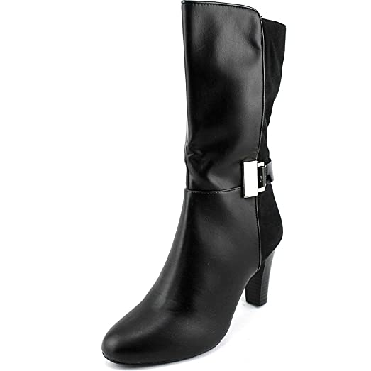 Womens Viivi Mid-Shaft Dress Booties Black 9.5 M