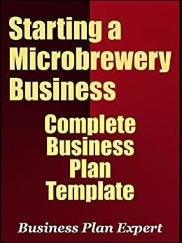 Microbrewery business plan template free