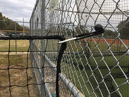 Nettings Wholesale #18 Baseball Barrier Nylon Netting (10ft x 20ft)
