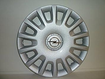 Juego de Tapacubos 4 Tapacubos Diseño de Vauxhall Corsa D Desde 2006 r 14 () Logo Cromado: Amazon.es: Coche y moto