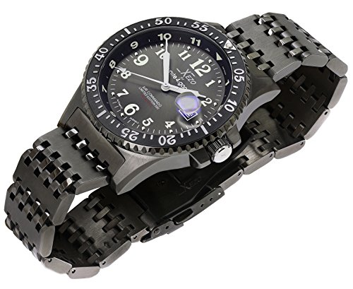 Xezo air commando japanese automatic diver s pilots import it all for Xezo watches