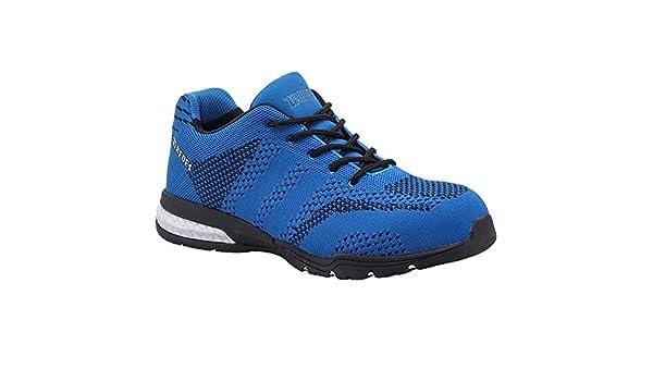 Paredes SPRO+ MONACO AZUL PAREDES SP5040-AZ/43 - Zapatilla deportiva seguridad azul, puntera + plantilla Compact No metálica. Modelo SPRO+ MONACO AZUL.