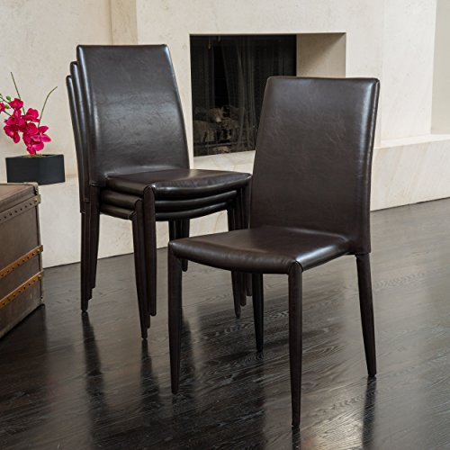 Christopher Knight Home Comstock Stacking Chairs (Set of 4)