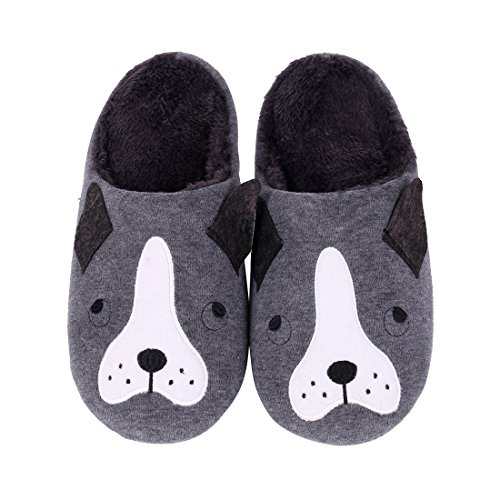 Cat Hedgehog Home House Kids Animal Slippers Bedroom Dog Winter For Slippers Penguin Black Fuzzy Slippers Dog Cute Indoor Family nIxRqxg
