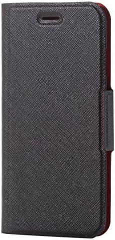 エレコム iPhone8 ケース カバー 手帳型 レザー イタリアンレザー サイドマグネット Coronet iPhone7 対