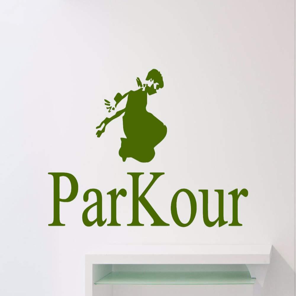 xingbuxin Tatuajes de Pared Cool Sport Parkour Etiqueta de la ...