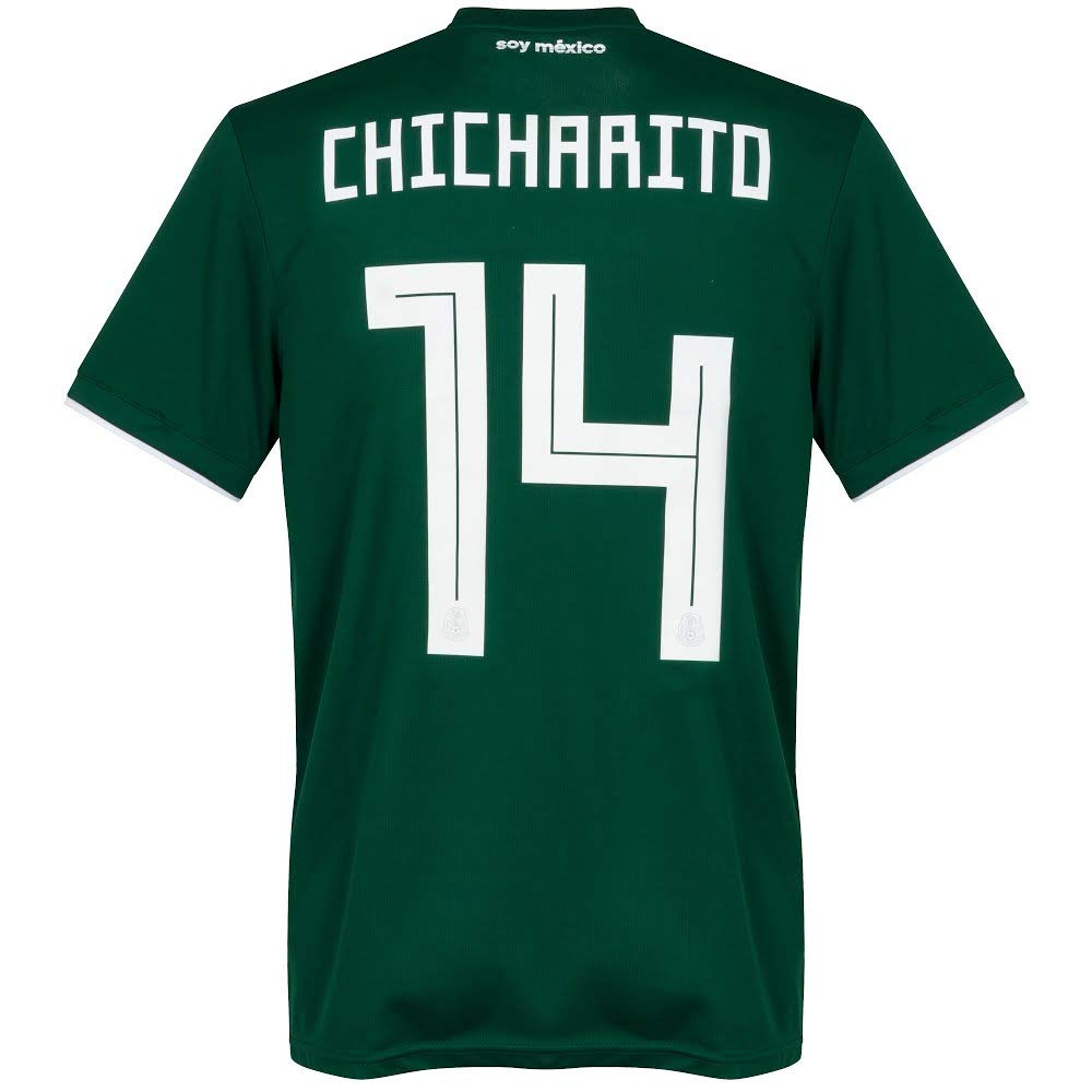 Amazon Mexico Home Chicharito Jersey 2018 2019 Official