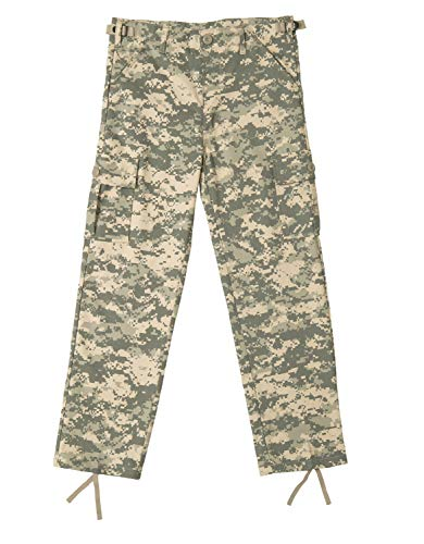 Rothco Kids BDU Pants - ACU Digital Camo, Medium(10-12) Size