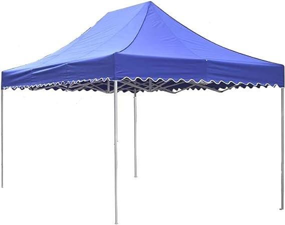ZAQI Pergolas Cenador Carpa Tienda Resistente Azul del toldo, toldos inmediatos Grandes Plegables Impermeables al Aire Libre del Patio Trasero del Partido, Metal, para los niños (Tamaño : 2m×3m): Amazon.es: Hogar
