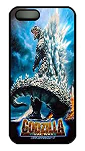 iPhone 5S Case VUTTOO Godzilla Final Wars PC Hard Plastic Case for iPhone 5S - Black