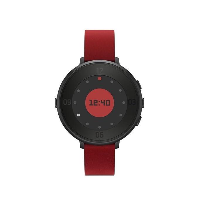 Pebble Tiempo Redondo 14 mm Smartwatch para Apple/Android ...