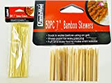 50 PC Bamboo BBQ Skewers Size: 7'' L , Case of 96