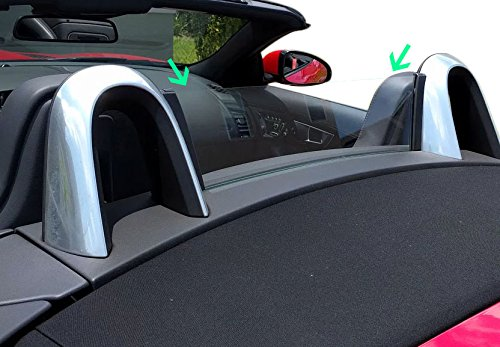 Jaguar F-Type Convertible Plexiglass Rear Window (Wind Deflector) by RSD