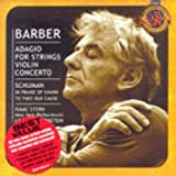 ADAGIO FOR STRINGS/ LEONARD BERNSTEIN (BONUS TRACK) by SAMUEL BARBER/ WILLIAM SCHUMANN [Korean Imported] (2004)