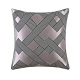 Produp  Pack of 6 Soft Decorative Square Throw Pillow Case Cushion Covers Pillowcases for Livingroom Sofa Bedroom