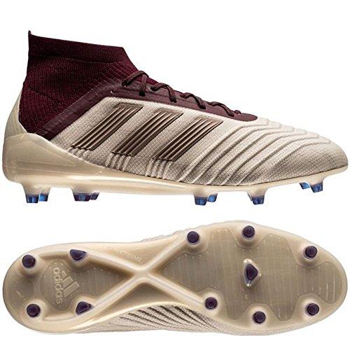 adidas PerformancePREDATOR 18.3 SG J - Screw-in stud football boots - black/solred 8dvjUDKjsp