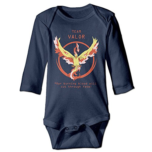 Price comparison product image Pokemon GO Team Logos (reupload Due To Own Stupidity) Baby Onesie Bodysuit Toddler Clothes Longsleeve