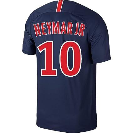 f7c3c0a14d5 Amazon.com   PSG Home Neymar Jr 10 Jersey 2018 2019 (Fan Style ...