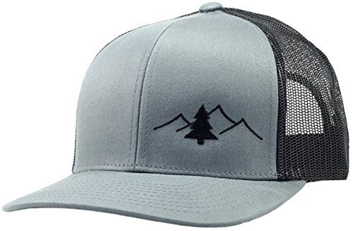 Lindo Trucker Hat - Great Outdoors Collection (Graph/Blk)