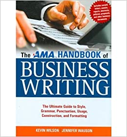 The ama handbook of business writing