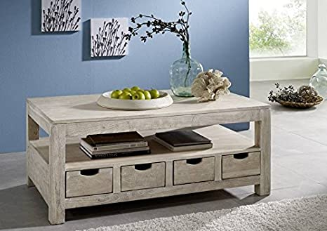 Solid Furniture Acacia Coffee Table 120x70 Wood Furniture Solid