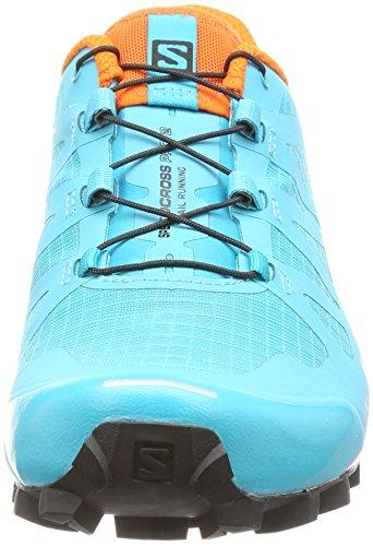 Blue de Ibis Zapatillas para 000 Running Bird Azul Pro Mujer Black Speedcross W Salomon Trail Scarlet 2 CPyARqq4w