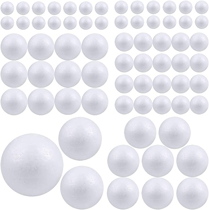 3//32 Dia 500 Pcs of Nylon 6//6 Natural Molded Balls .094