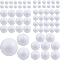 Pllieay 88 piezas 6 tamaños bolas de espuma