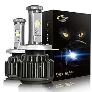 Amazon Com Cougarmotor Led Headlight Bulbs All In One