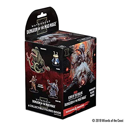 WizKids D&D Icons of The Realms: Waterdeep: Dungeon of The Mad Mage Booster: Toys & Games