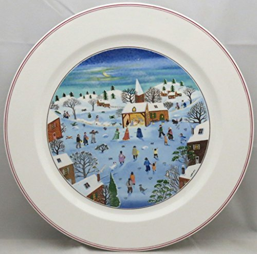 12 Chop Plate Round Platter - Villeroy & Boch Naif Christmas 12