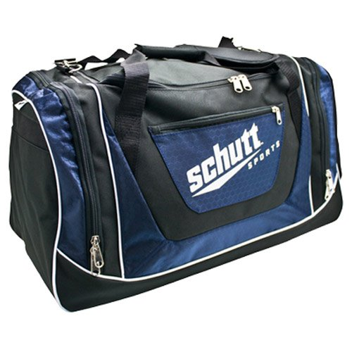 Schutt Sports Youth Individual Player Bag, Black/Navy