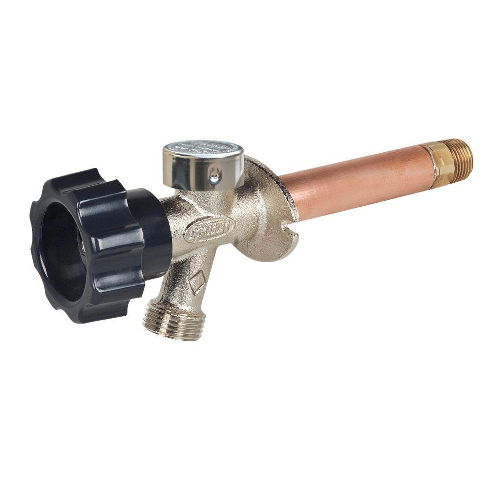 Arrowhead 479-10 10-Inch Freeze-Proof Arrow-Breaker QuickTurn Anti-Siphon Hydrant with 1/2-Inch PEX Inlet Connection