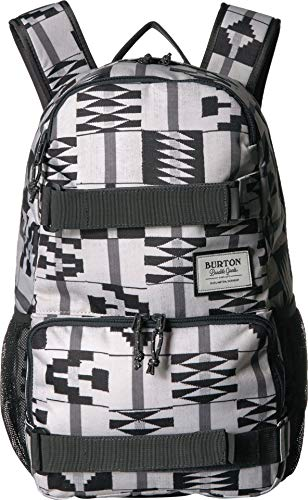 - Burton Treble Yell Backpack with Laptop Compartment, Water Bottle Pockets and Skate Straps