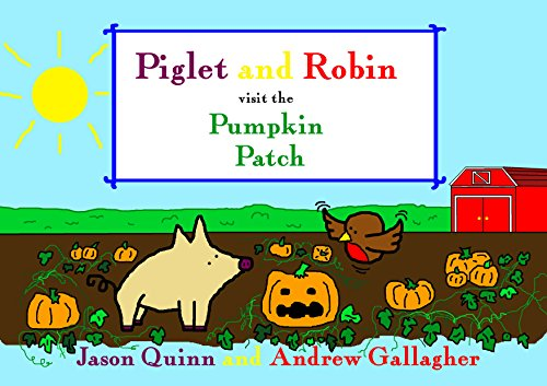 Piglet and Robin visit the Pumpkin -
