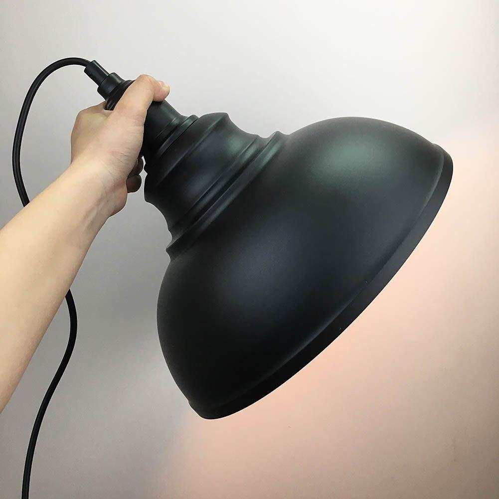 Black Vintage Ceiling Light Pendant Lamp Industrial Retro Loft Iron Lighting Home Bar Loft Decor