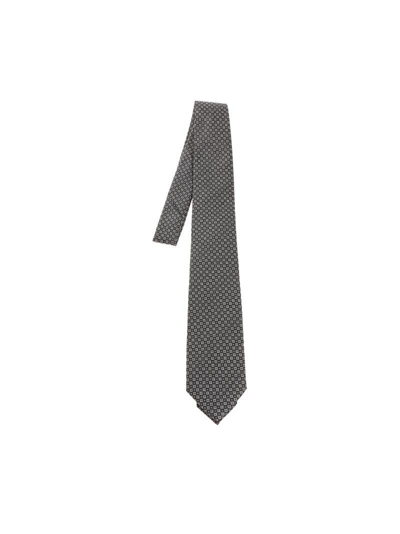 Z Zegna Men's Z3d031l7b Grey Silk Tie by Z Zegna (Image #1)