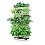 Green Sun Garden Self-watering Vertical Planter,Wall-hung Plants Holder,Afforest Hanging Flowerpot,1 Planter with 4 Pots Design